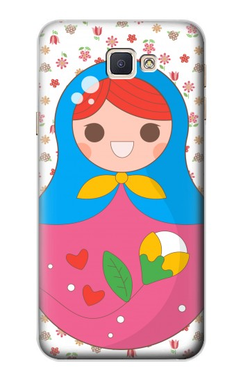 Printed Russian Doll Matryoshka Samsung Galaxy A8, A8 Duos Case