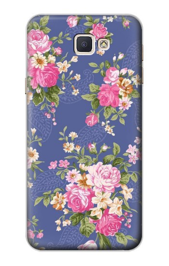 Printed Vintage Flower Pattern Samsung Galaxy A8, A8 Duos Case