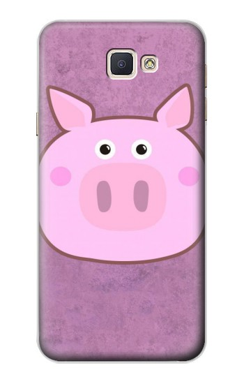 Printed Pig Cartoon Samsung Galaxy A8, A8 Duos Case