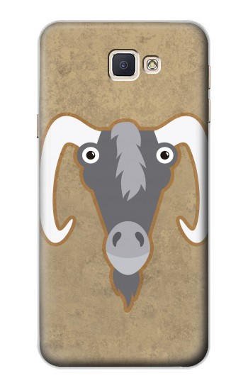 Printed Goat Cartoon Samsung Galaxy A8, A8 Duos Case
