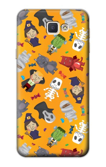 Printed Cute Halloween Cartoon Pattern Samsung Galaxy A8, A8 Duos Case