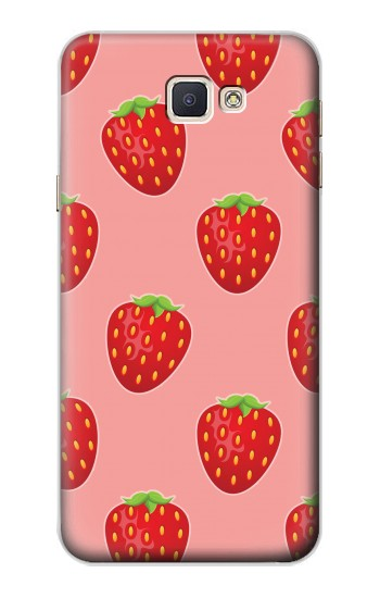 Printed Strawberry Fruit Pattern Samsung Galaxy A8, A8 Duos Case