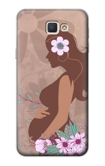 Printed Pregnant Mommy Baby Samsung Galaxy A8, A8 Duos Case