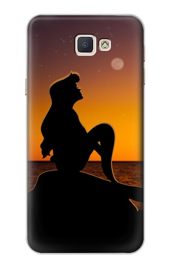 Printed Mermaid Sunset Samsung Galaxy A8, A8 Duos Case