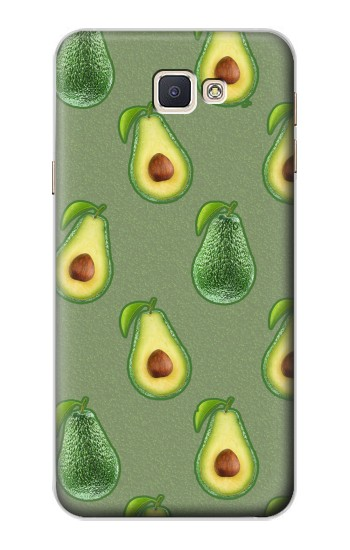 Printed Avocado Fruit Pattern Samsung Galaxy A8, A8 Duos Case