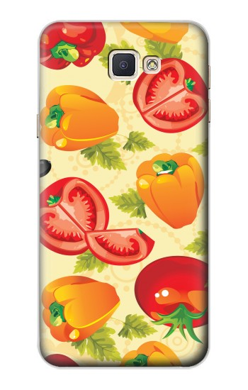 Printed Seamless Food Vegetable Samsung Galaxy A8, A8 Duos Case
