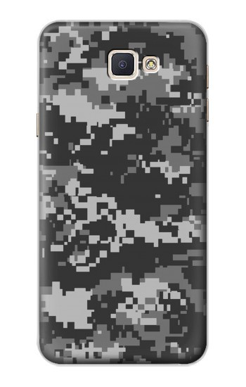 Printed Urban Black Camouflage Samsung Galaxy A8, A8 Duos Case