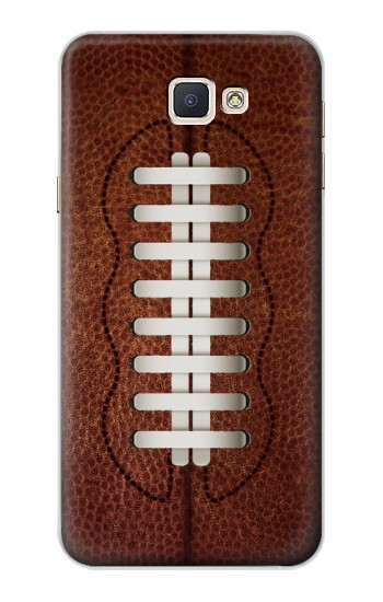Printed Leather Vintage Football Samsung Galaxy A8, A8 Duos Case