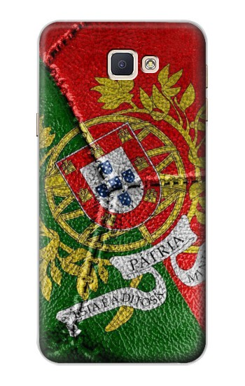 Printed Portugal Flag Vintage Football 2018 Samsung Galaxy A8, A8 Duos Case