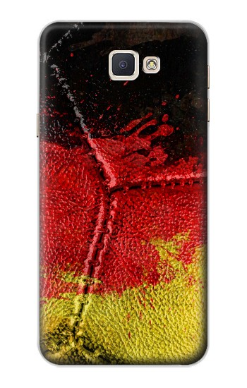 Printed Germany Flag Vintage Football 2018 Samsung Galaxy A8, A8 Duos Case