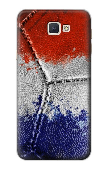Printed France Flag Vintage Football 2018 Samsung Galaxy A8, A8 Duos Case