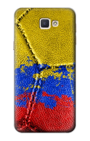 Printed Colombia Flag Vintage Football 2018 Samsung Galaxy A8, A8 Duos Case
