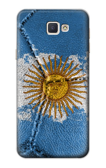 Printed Argentina Flag Vintage Football 2018 Samsung Galaxy A8, A8 Duos Case
