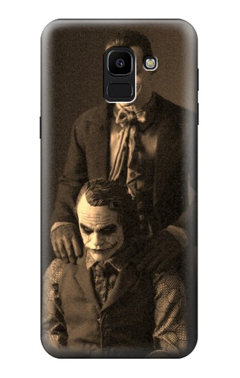 Printed Jokers Together Samsung Galaxy J6 Case