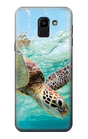 Printed Ocean Sea Turtle Samsung Galaxy J6 Case