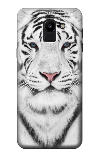 Printed White Tiger Samsung Galaxy J6 Case