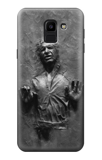Printed Han Solo Frozen in Carbonite Samsung Galaxy J6 Case