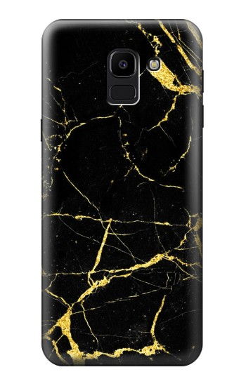 Printed Gold Marble Graphic Printed Samsung Galaxy J6 Case