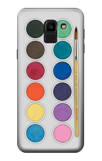 Printed Mixing Color Plate Samsung Galaxy J6 Case