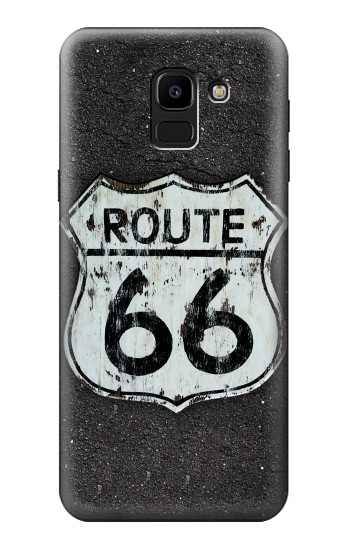 Printed Route 66 Sign Samsung Galaxy J6 Case