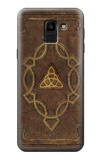 Printed Spell Book Cover Samsung Galaxy J6 Case