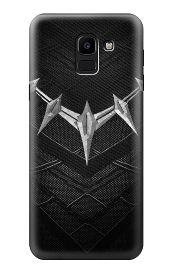 Printed Black Panther Inspired Costume Necklace Samsung Galaxy J6 Case