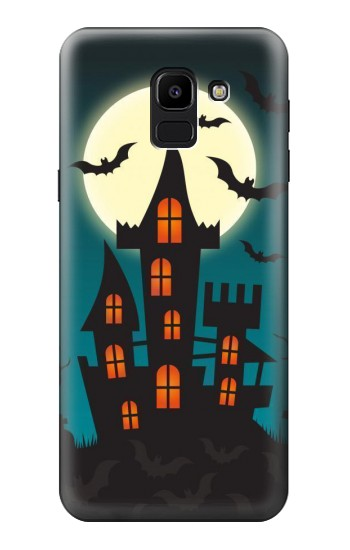 Printed Halloween Festival Castle Samsung Galaxy J6 Case