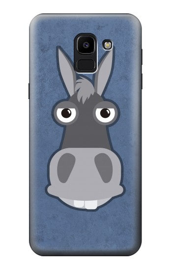 Printed Donkey Cartoon Samsung Galaxy J6 Case