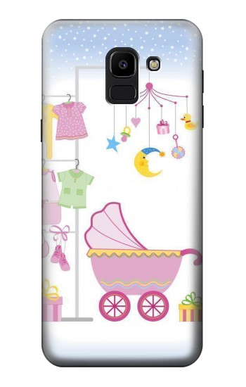 Printed Baby Supplies Samsung Galaxy J6 Case