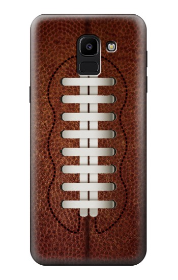 Printed Leather Vintage Football Samsung Galaxy J6 Case