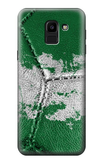 Printed Nigeria Flag Vintage Football 2018 Samsung Galaxy J6 Case