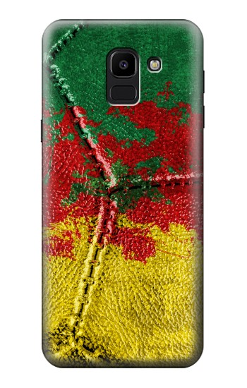 Printed Senegal Flag Vintage Football 2018 Samsung Galaxy J6 Case