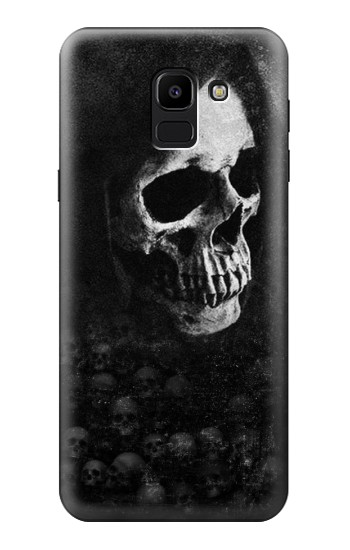 Printed Death Skull Samsung Galaxy J6 Case