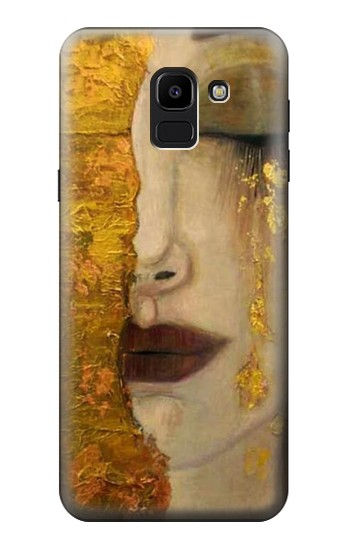 Printed Gustav Klimt Golden Tears Samsung Galaxy J6 Case