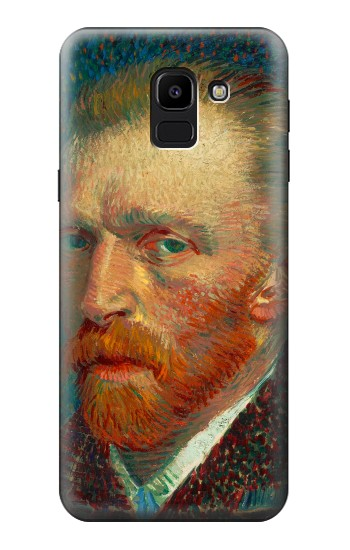 Printed Vincent Van Gogh Self Portrait Samsung Galaxy J6 Case