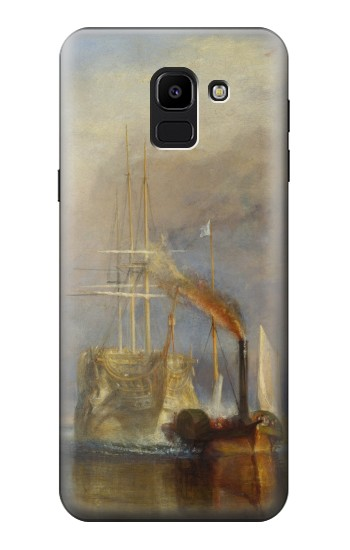 Printed Joseph Mallord William Turner The Fighting Temeraire Samsung Galaxy J6 Case