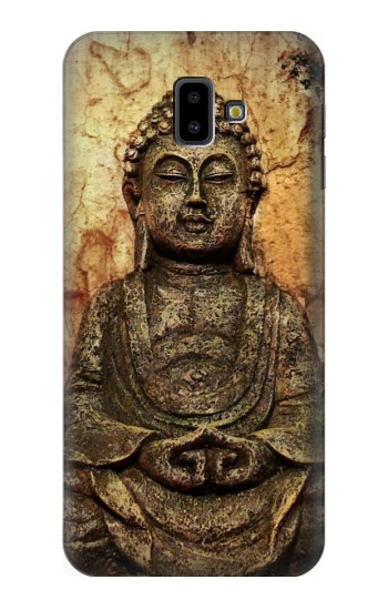 Printed Buddha Rock Carving Samsung Galaxy J6 Plus (2018) Case