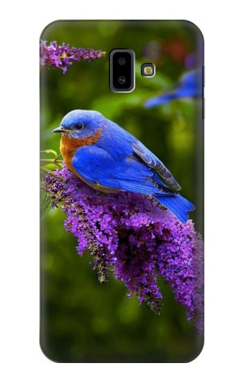 Printed Bluebird of Happiness Blue Bird Samsung Galaxy J6 Plus (2018) Case