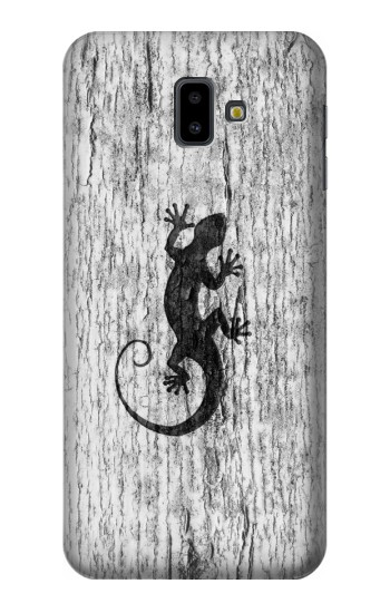 Printed Gecko Wood Graphics Printed Samsung Galaxy J6 Plus (2018) Case