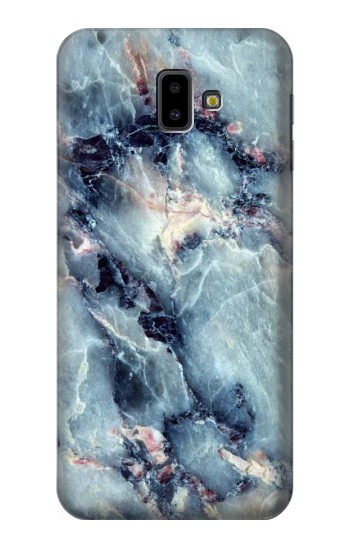 Printed Blue Marble Texture Samsung Galaxy J6 Plus (2018) Case