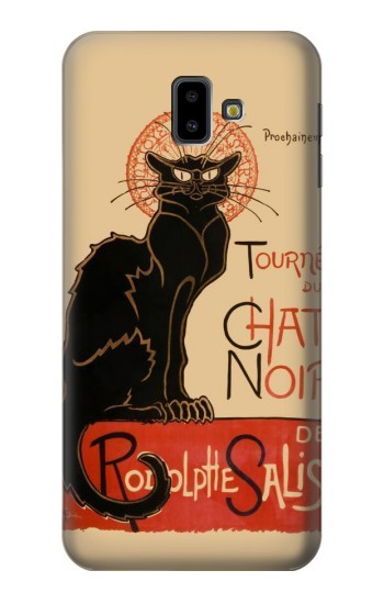 Printed Chat Noir The Black Cat Samsung Galaxy J6 Plus (2018) Case