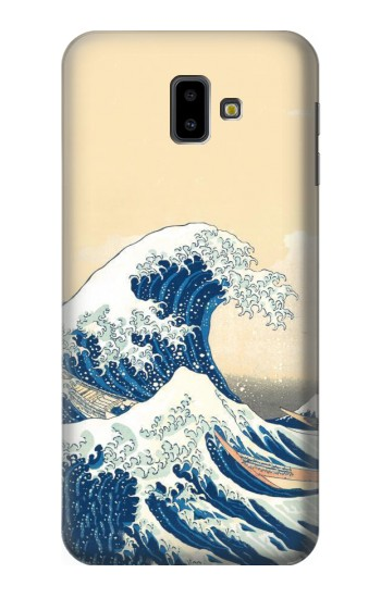 Printed Under the Wave off Kanagawa Samsung Galaxy J6 Plus (2018) Case