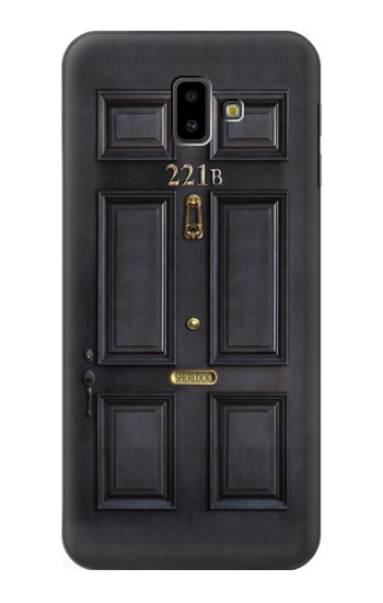 Printed Sherlock Holmes Black Door 221B Samsung Galaxy J6 Plus (2018) Case