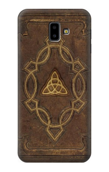 Printed Spell Book Cover Samsung Galaxy J6 Plus (2018) Case