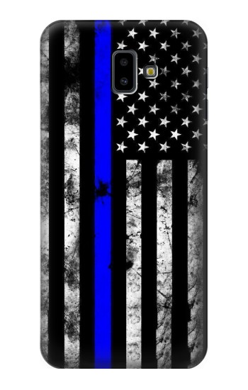 Printed Thin Blue Line USA Samsung Galaxy J6 Plus (2018) Case