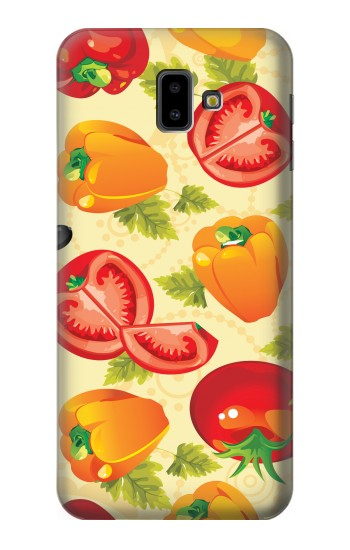Samsung Galaxy J6 Plus (2018) Seamless Food Vegetable Case Cover