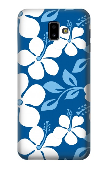 Printed Hawaii Blue Pattern Samsung Galaxy J6 Plus (2018) Case