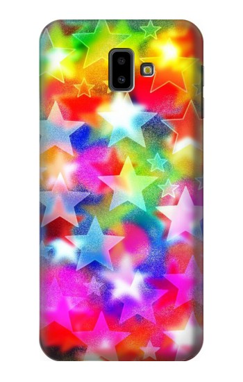 Printed Colourful Disco Star Samsung Galaxy J6 Plus (2018) Case