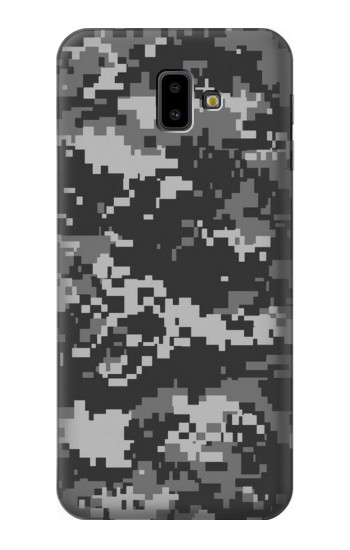 Printed Urban Black Camouflage Samsung Galaxy J6 Plus (2018) Case