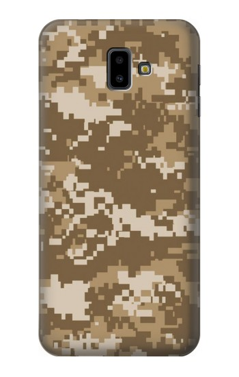 Printed Army Camo Tan Samsung Galaxy J6 Plus (2018) Case